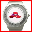 RED HAT SOCIETY LADIES Fun Stainless Steel Wrist Watch Unisex 185