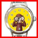 Curious George Monkey Kids Italian Charm Wrist Watch 621