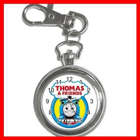 THOMAS THE TANK TRAIN Silvertone Key Chain Watch 003