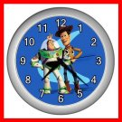 TOY STORY WOODY & BUZZ KIDS Wall Clock-Silver 022