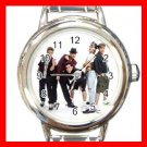 NEW KIDS ON THE BLOCK MUSIC BAND Italian Charm Wrist Watch 622