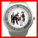 NEW KIDS ON THE BLOCK MUSIC BAND Stainless Steel Wrist Watch Unisex 188