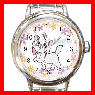 Aristocats Marie Cat Kids Italian Charm Wrist Watch 625