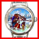 Beauty and Beast Dance Winter Kids Italian Charm Wrist Watch 626