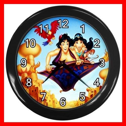 Aladdin Jasmine Fly Kids Decor Wall Clock-Black 027
