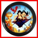 Aladdin Jasmine Fly Kids Decor Wall Clock-Black 027