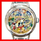 Mickey Mouse Friends Family Kids Italian Charm Wrist Watch 630