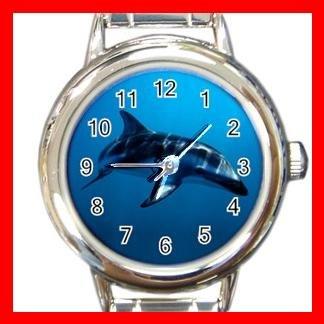 Dusky Dolphin Underwater Sea Italian Charm Wrist Watch 632