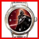 DARTH VADER STAR WARS Italian Charm Wrist Watch 633