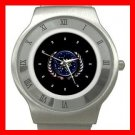 STAR TREK FEDERATION OF PLANETS LOGO Stainless Steel Wrist Watch Unisex 192