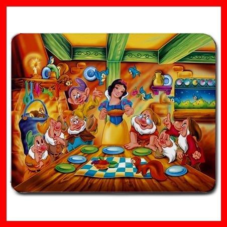 Snow White & Seven Dwarfs Mouse Pad MousePad Mat 256