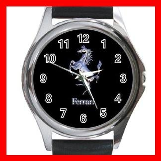 Ferrari Collectable Round Metal Wrist Watch Unisex 180