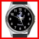 Ferrari Collectable Round Metal Wrist Watch Unisex 180