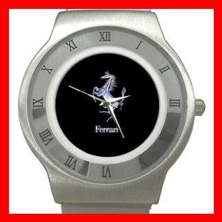 Ferrari Collectable Stainless Steel Wrist Watch Unisex 196