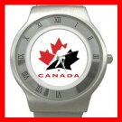 Hockey TEAM CANADA NHL Collectable Stainless Steel Wrist Watch Unisex 199
