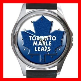 Toronto MAPLE LEAFS Round Metal Wrist Watch Unisex 181