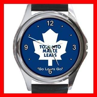 Toronto MAPLE LEAFS Round Metal Wrist Watch Unisex 182