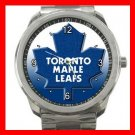 Toronto MAPLE LEAFS Silvertone Sports Metal Watch 010