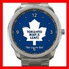 Toronto MAPLE LEAFS Silvertone Sports Metal Watch 011