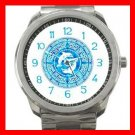 Celtic Dolphins Myth Silvertone Sports Metal Watch 053