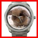 Easter Bunnies Bunny Rabbit Silvertone Sports Metal Watch 062