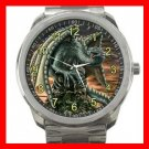 Raptor Dragon Fantasy Silvertone Sports Metal Watch 092