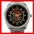 School of Infantry U.S. Military Silvertone Sports Metal Watch 105