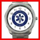 Emergency Paramedic EMT Silvertone Sports Metal Watch 154