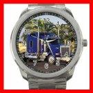 BLUE KENWORTH TRUCK Silvertone Sports Metal Watch 175