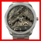 SIG Sauer Firearms Silvertone Sports Metal Watch 177