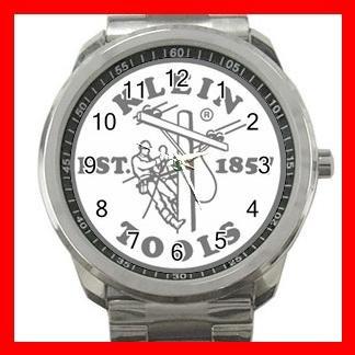 Klein Tools Electrician Silvertone Sports Metal Watch 211