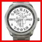 Klein Tools Electrician Silvertone Sports Metal Watch 211