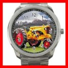 Minneapolis Moline Tractor Silvertone Sports Metal Watch 212