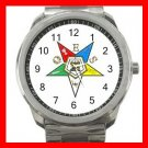 Order Of The Eastern Star Silvertone Sports Metal Watch 231