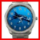 Dusky Dolphin Underwater Sea Marine Silvertone Sports Metal Watch 233