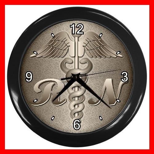 REGISTERED NURSE RN HOSPITAL Decor Wall Clock-Black 050