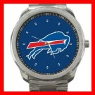 Buffalo Bills Silvertone Sports Metal Watch 32903580