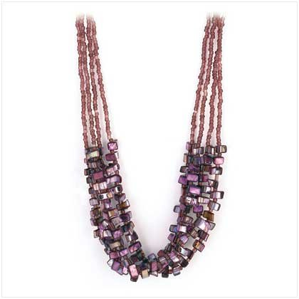 Lavender Calypso Necklace