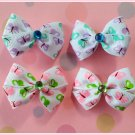 Butterfly Bitsy Bows (2 pairs)