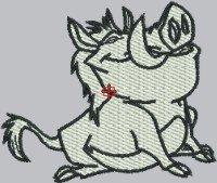 1804 Mad Dog Pumba Cartoon