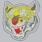 1786 Lion Patch (DST)