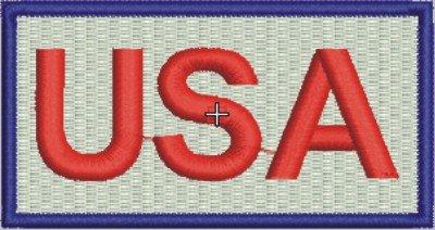 1846 USA Patch