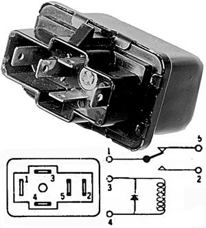 Us Auto Sales Payment >> CORVETTE 1984 1985 1986 1987 1988 A/C COMPRESSOR Relay