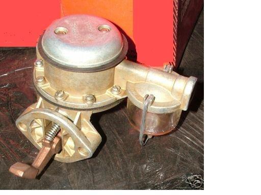 INTERNATIONAL TRUCK FUEL PUMP BD269 RD372 408 450 501 1959 1958 1957 1956 1955 1954 - 1950