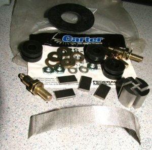 CARTER ELECTRIC FUEL PUMP REPAIR KIT P4070 P4389 P4259 P4594 P4600 MARINE PERFORMANCE RV