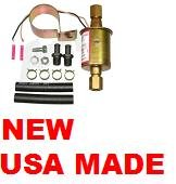 ELECTRIC FUEL PUMP EXTERNAL UNIVERSAL V6 V8  20gph - 30gph 5 - 9psi