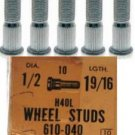 WHEEL STUDS CHEVROLET C20 1965-1970 GMC C2500 1966-1970