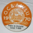 UNION PIN OIL CHEMICAL ATOMIC WORKERS LOCAL 7-662 1970