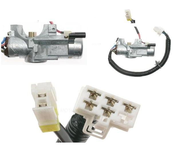 IGNITION SWITCH & LOCK 300ZX 1990 1991 1992 1993 1994 1995 1996 MANUAL TRANSMISSION