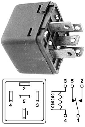 WIPER RELAY CONCORDE LHS NEW YORKER TOWN & COUNTRY VAN